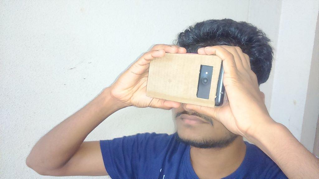 Очки виртуальной реальности своими руками