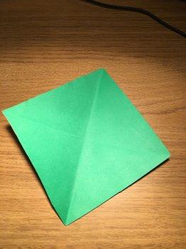 Елка в технике оригами своими руками