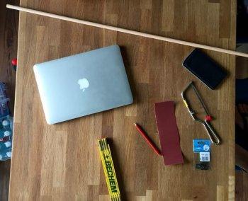 Подставка под ноутбук из подручных материалов своими руками