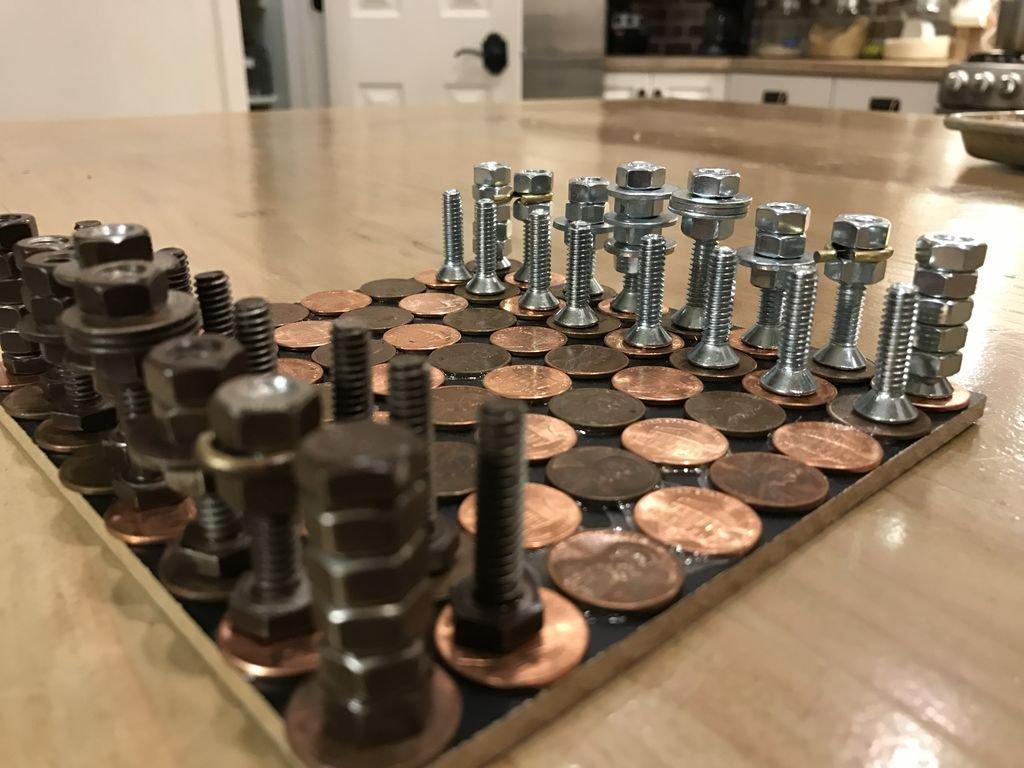 Фото шахмат своими руками 870