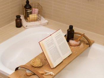 Полка-поднос для ванны своими руками