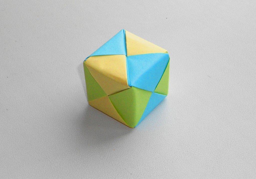 Кубик из бумаги своими руками