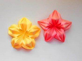 Объемные цветы из бумаги на 8 марта
