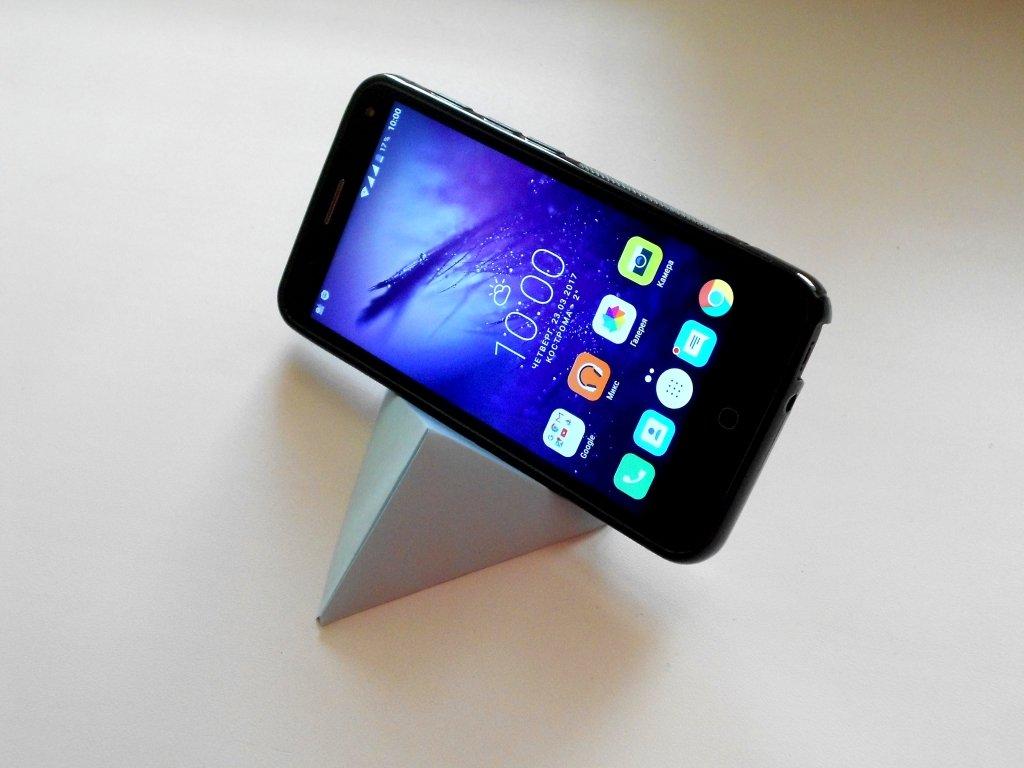 Подставка для телефона из бумаги