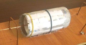 Электромотор из алюминиевой банки