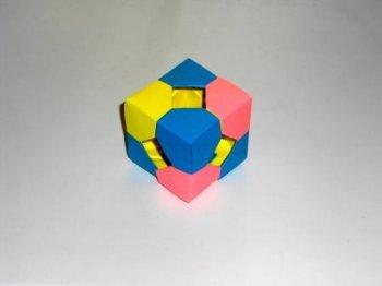 Оригами куб из бумаги