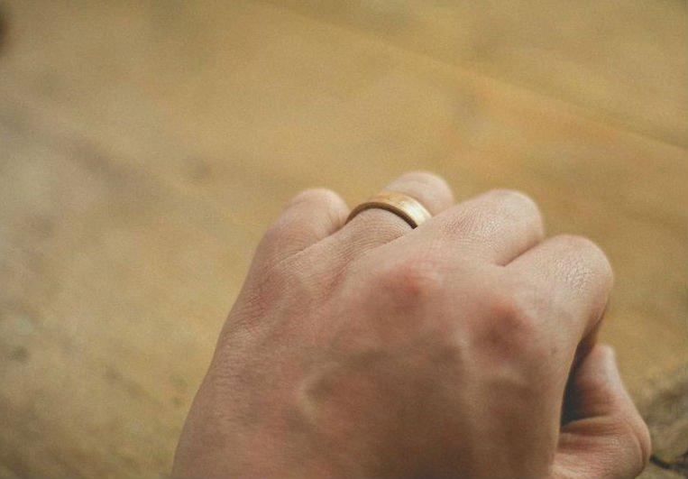 Деревянное кольцо из шпона своими руками