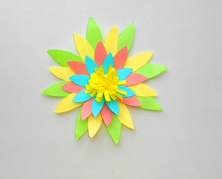 Цветы из бумаги своими руками: легко и быстро