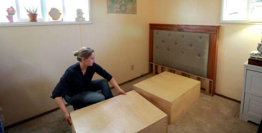 Модульная кровать своими руками