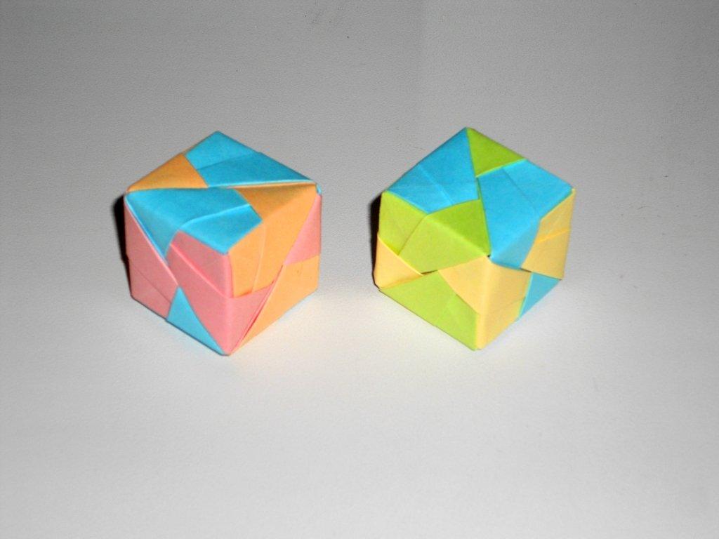 Кубик из бумаги Поделки оригами