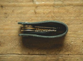 Брелок для ключей из натуральной кожи