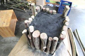 Журнальный столик из дерева своими руками