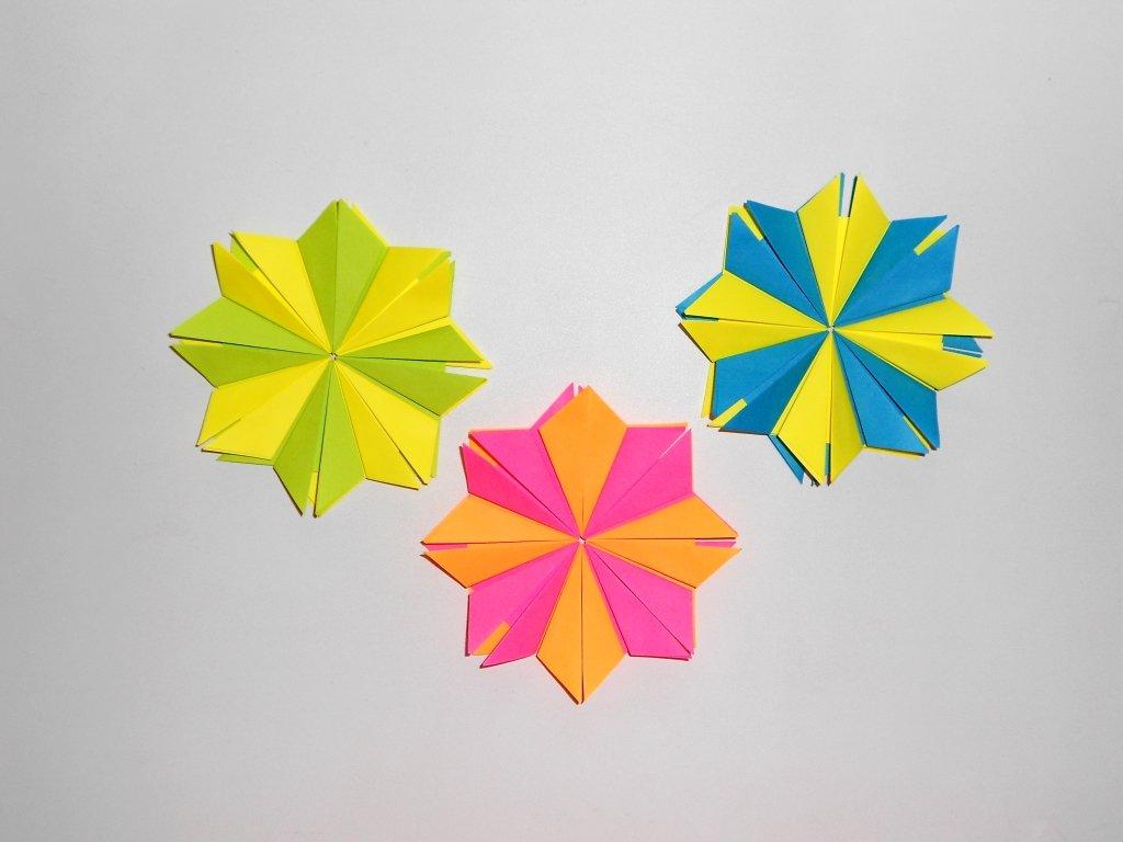 Декор для комнаты из бумаги