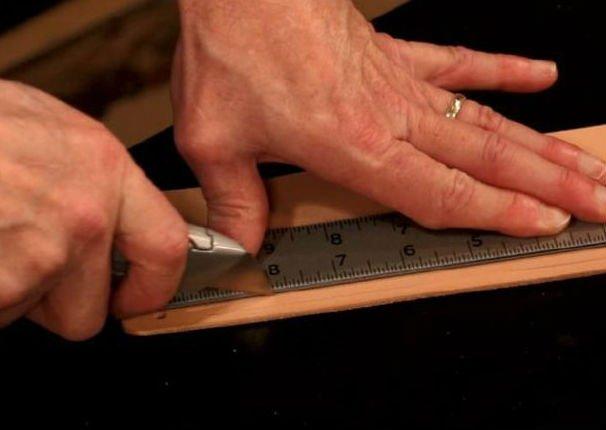Плетеный кожаный браслет своими руками