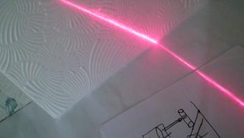 Лазерный стоп сигнал или уровень своими руками.