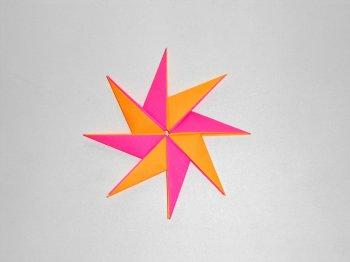 Оригами звездочка из бумаги