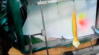 Покраска воблеров Расцветка Fire Tiger