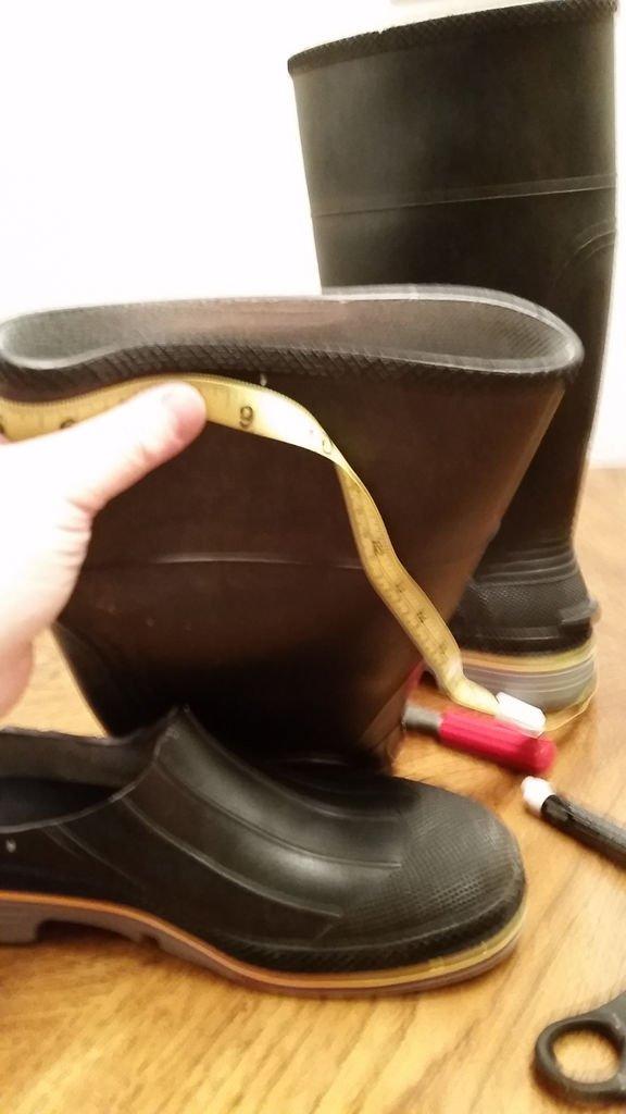 Кроксы из сапог своими руками