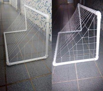 Ворота для мини-футбола своим руками
