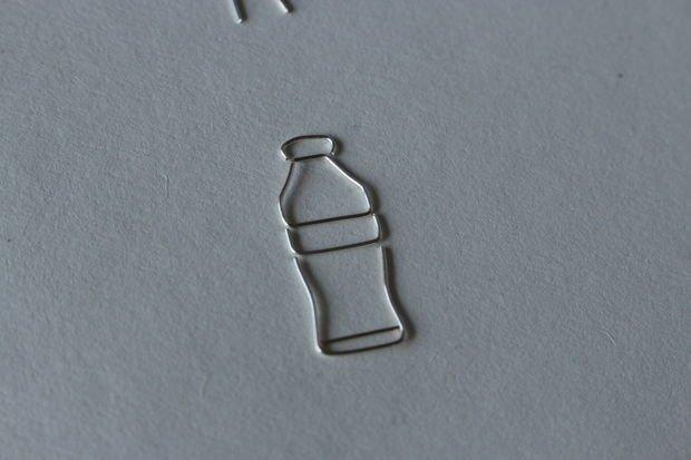Оригинальное кольцо в виде бутылки  из проволоки
