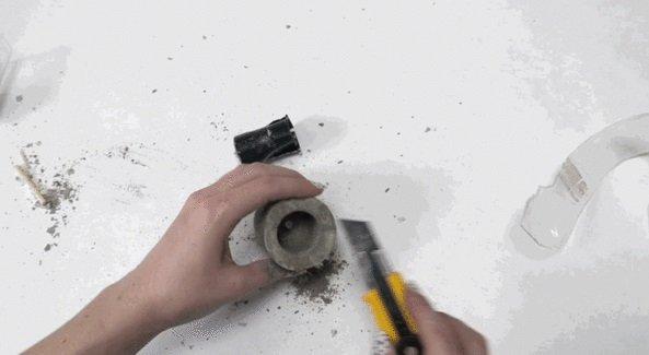 Вазоны-кашпо из бетона