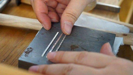 Кольцо из серебряной проволоки своими руками