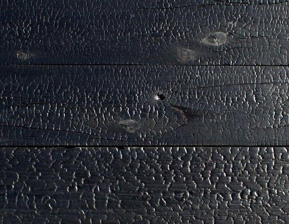 Техника обугливания древесины