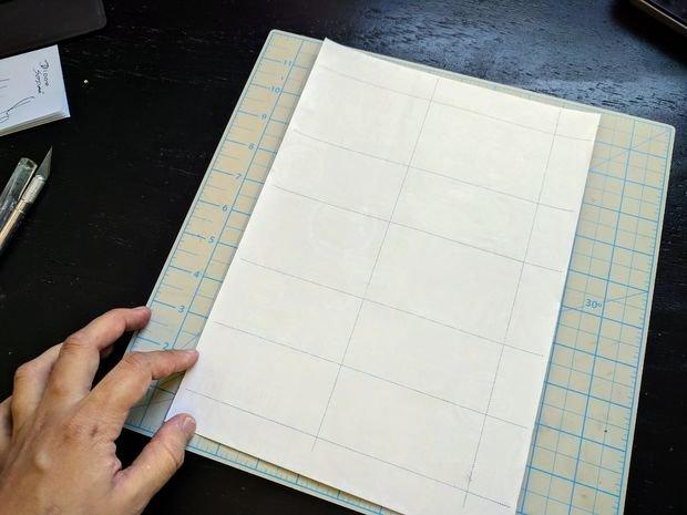Кошелек из бумаги своими руками