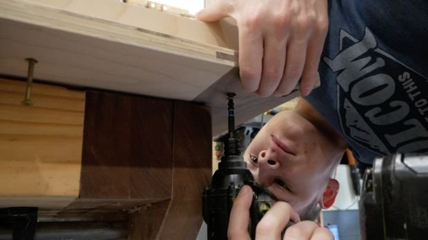 Стул-кресло из фанеры своими руками