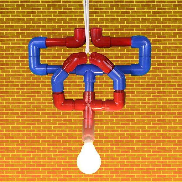 Лампа «Человек-паук» своими руками