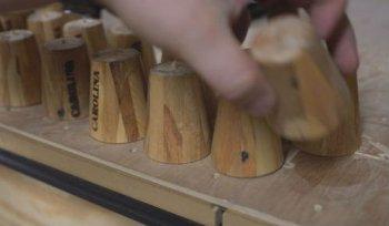 Деревянные рюмки своими руками