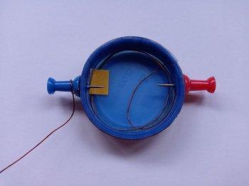 Простой двигатель постоянного тока своими руками
