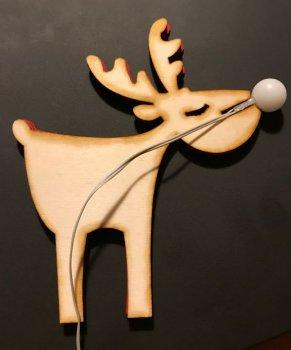 Новогодняя фигурка оленя своими руками
