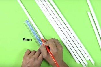 Подставка для карандашей и ручек из бумаги своими руками