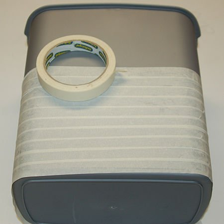 Корзинка для хранения из шнура своими руками