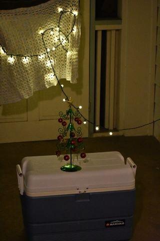 Ночная съемка предметов с размытым фоном