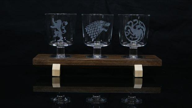 Подарочный набор бокалов с гравировкой