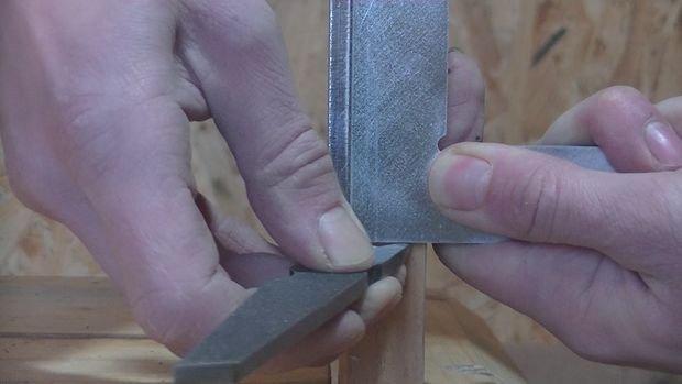 Маркировочный нож из напильника своими руками