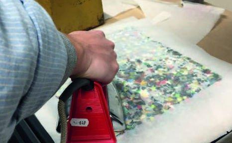 Плитка из пластиковых отходов своими руками