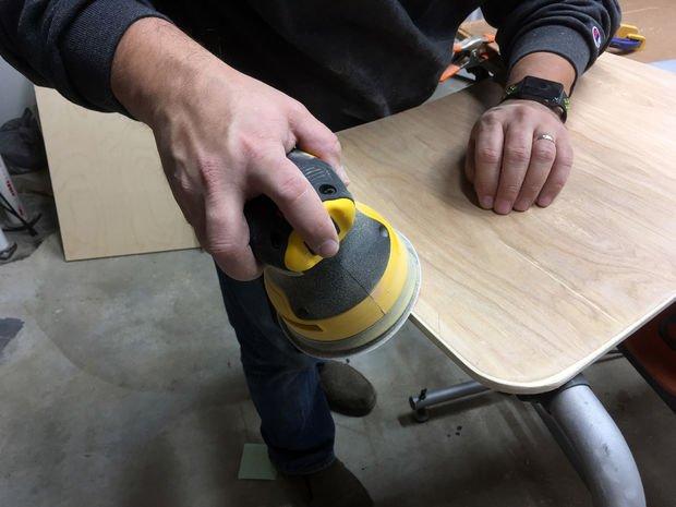 Мини-стол для ноутбука своими руками