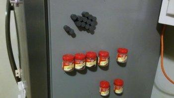 Магнитные баночки для специй