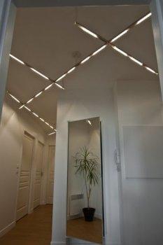 Потолочная светодиодная лампа своими руками