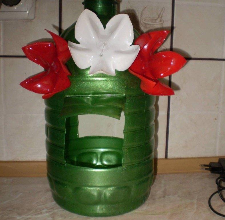 Пластиковый букет