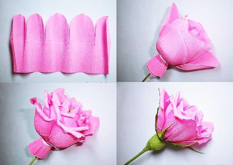 Картинки по запросу Как сделать украшения из гофрированной бумаги