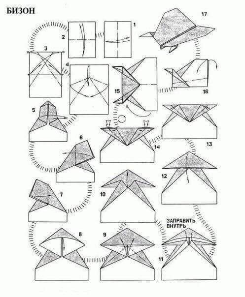 Делаем самолетик из бумаги своими руками